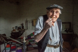 Colour Prints Highly Commended - The Smoker - Bob Moore - Arden Photo Group