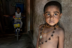 Colour Prints Highly Commended - Young Indian Boy - Bob Moore - Arden Photo Group